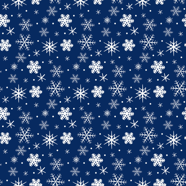 05uigmdbqpvvg09 Winter snowflake seamless pattern vector 03