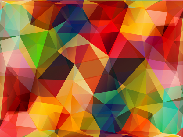 16iut0dlkfmmj09 Complicated polygon geometric background vector 06