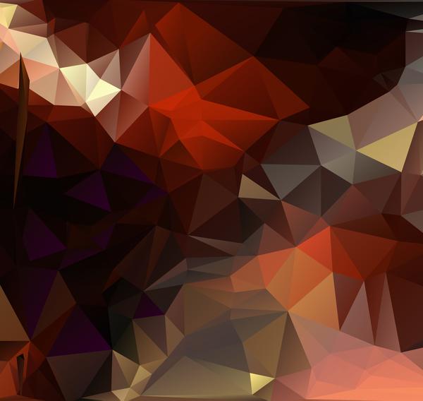22iod1krlnbbu09 Complicated polygon geometric background vector 02