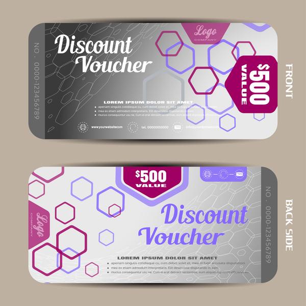 24shuxvobecrz09 Modern discount voucher template vector 06