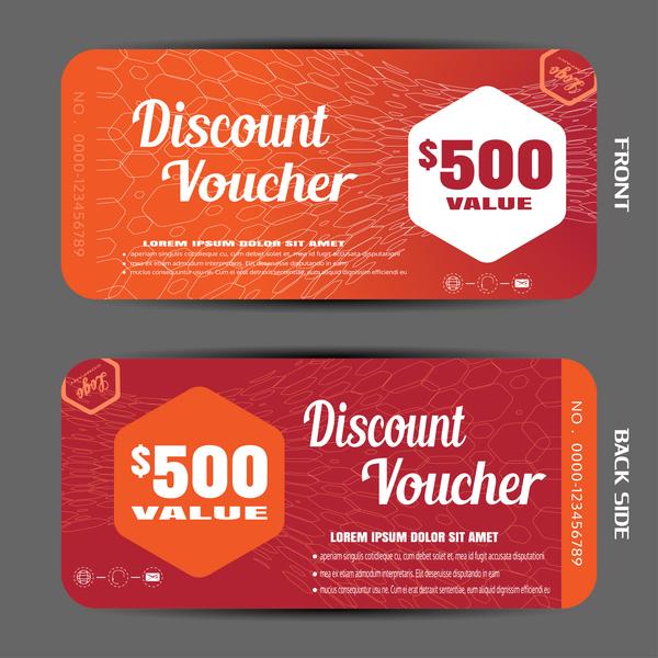 25pbuni2ycpcq09 Modern discount voucher template vector 05