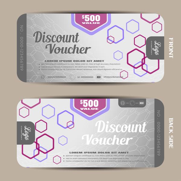 31s4w4hronqno09 Modern discount voucher template vector 01