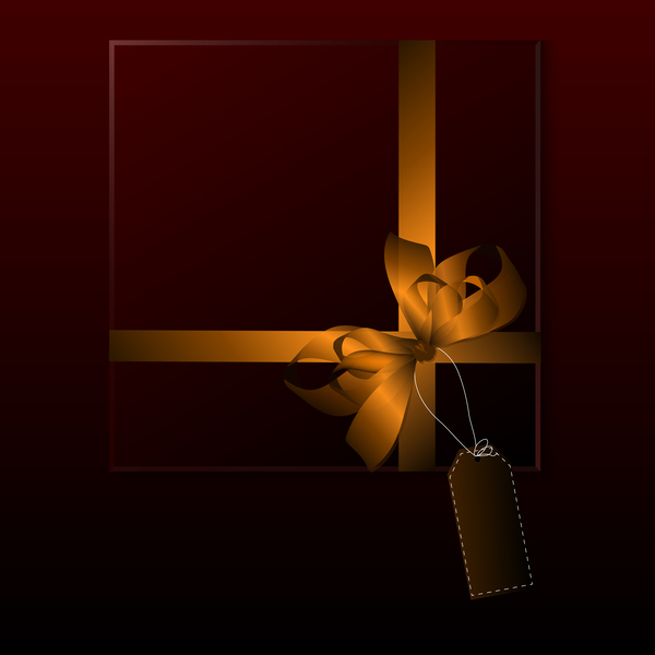 square luxury gift box