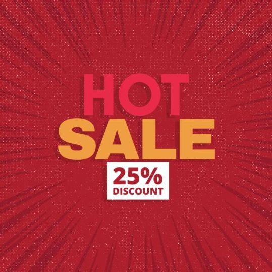 5233qtxtxpwvi09 Red hot sale background template vector 13