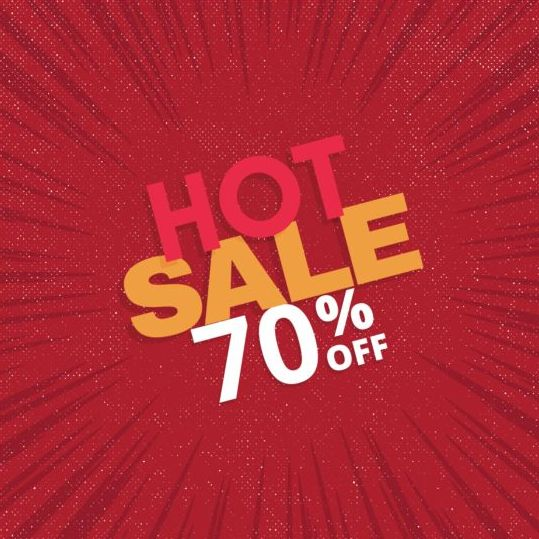 16ykaksnlw0pq10 Red hot sale background template vector 07