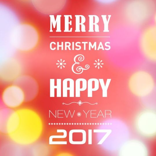 25hyuvtxusoq511 2017 christmas with new year design vector 01