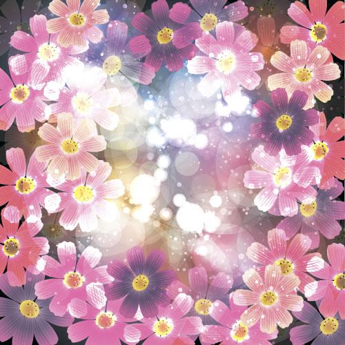 shiny flower beautiful