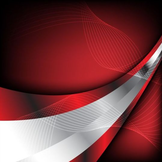 31lizfa02fn5m11 Abstract red with silver background vector
