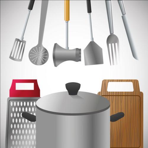tools kitchen illustration