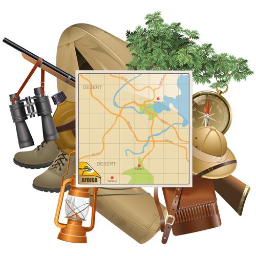 map hunting