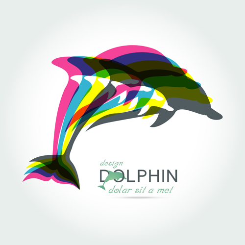 45lewrow3bgne15 Creative dolphin vector backgrounds 05