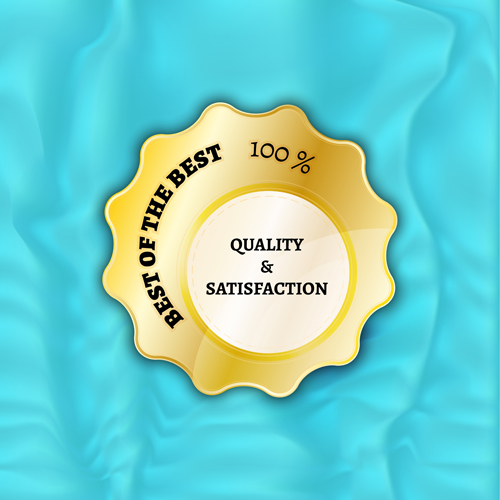 product material best badges