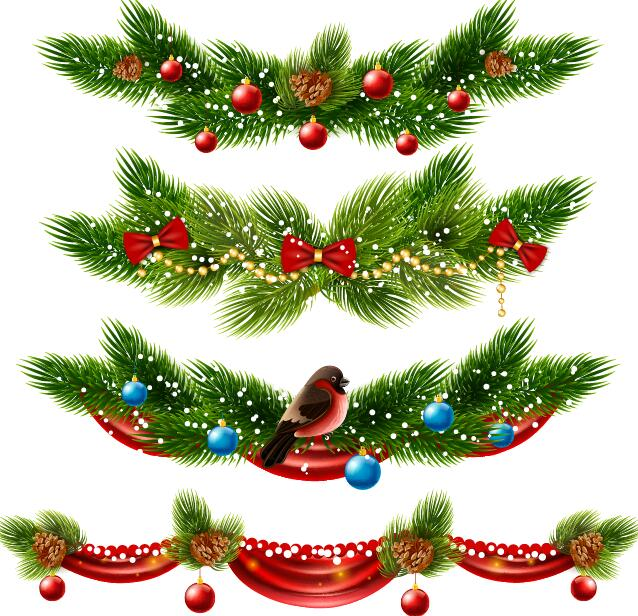 decor christmas borders