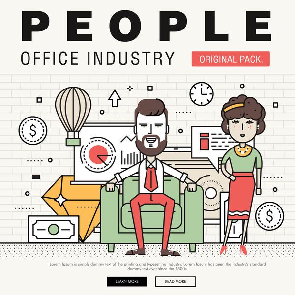people office industry