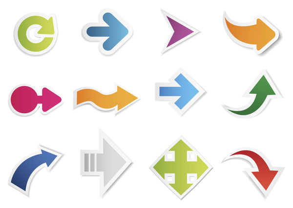 shapes different arrow