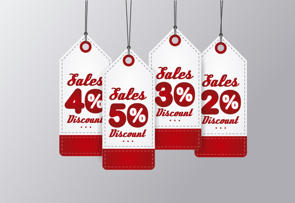 06jtfzcf3odrz23 Discount red sale tags vector