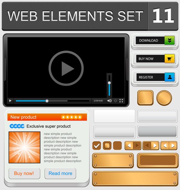 web elements button