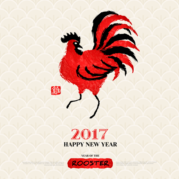 00103oo1ucyvc27 2017 year of the rooster vector material 02