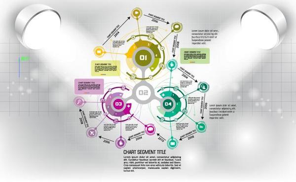 32pshcswm1hsb30 Modern business background design vector 06