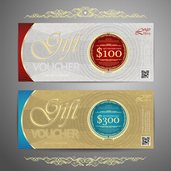 09cfjlvy1vppv32 Cash gift voucher template vectors 10