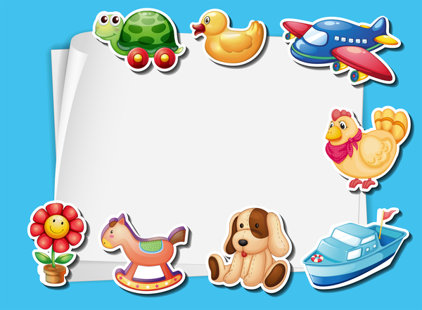 toys paper