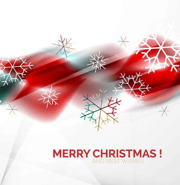 wishes snowflake christmas card