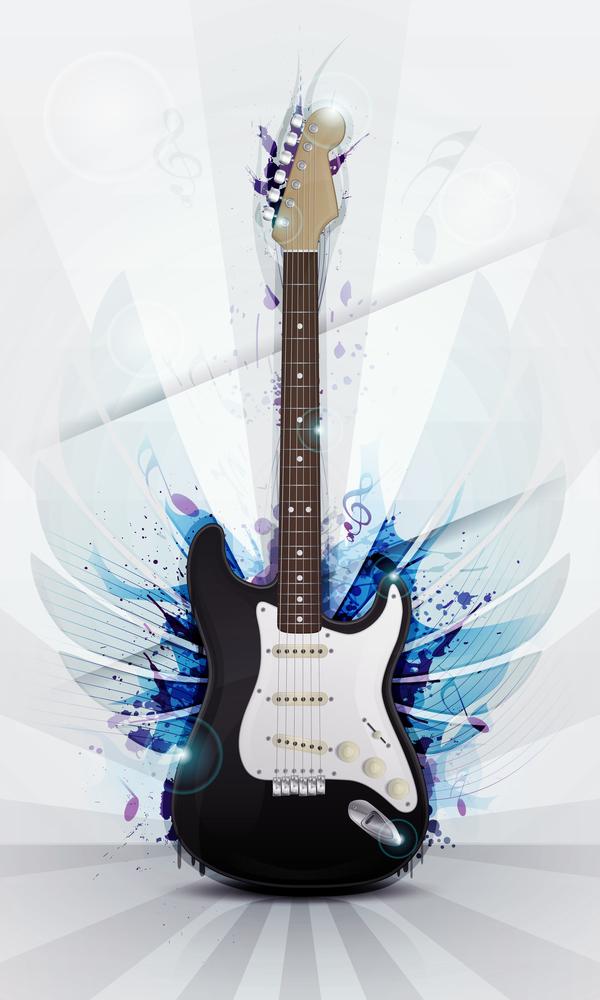 guitar grunge fashion