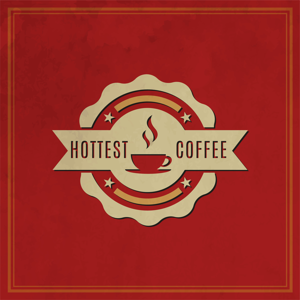 45xihk2qeht1l35 Retro coffee labels with red background vector 09