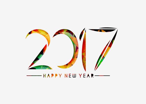 325ft4vqjyane36 2017 new year creative background set vector 24