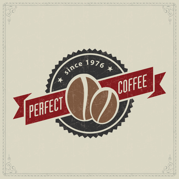 45lefuwbyrvyn36 Retro coffee labels design vectors set 03