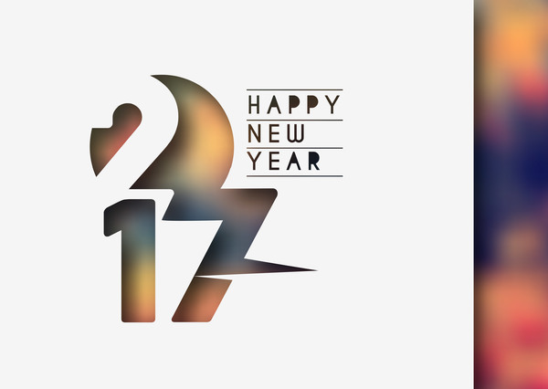 525ycgiv4yihf36 2017 new year creative background set vector 14