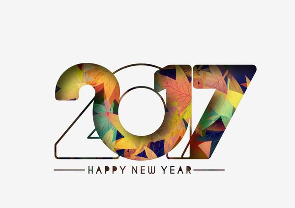 55kymcsj1aybx36 2017 new year creative background set vector 03
