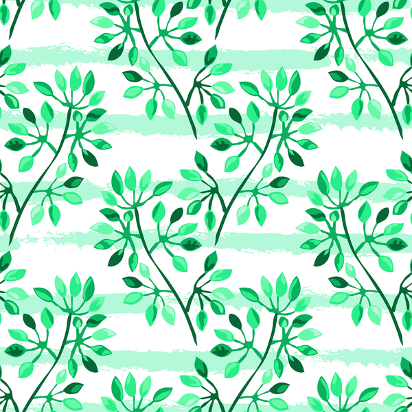 531pzs4o4qpl037 Tree branches with leaves seamless pattern vector 12