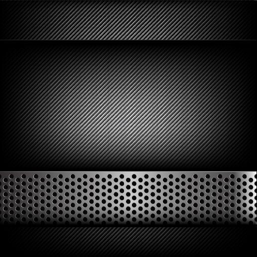 polished Hold fiber carbon black