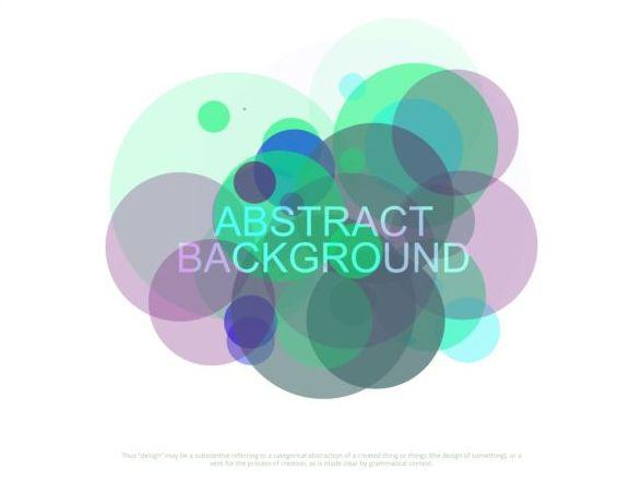 colorful circles abstract