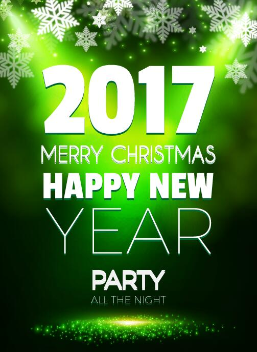 year party new flyer christmas 2017