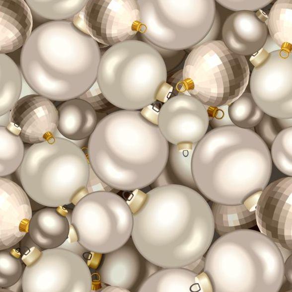 10ozqb2lrlstq43 Shining christmas ball seamless pattern vector