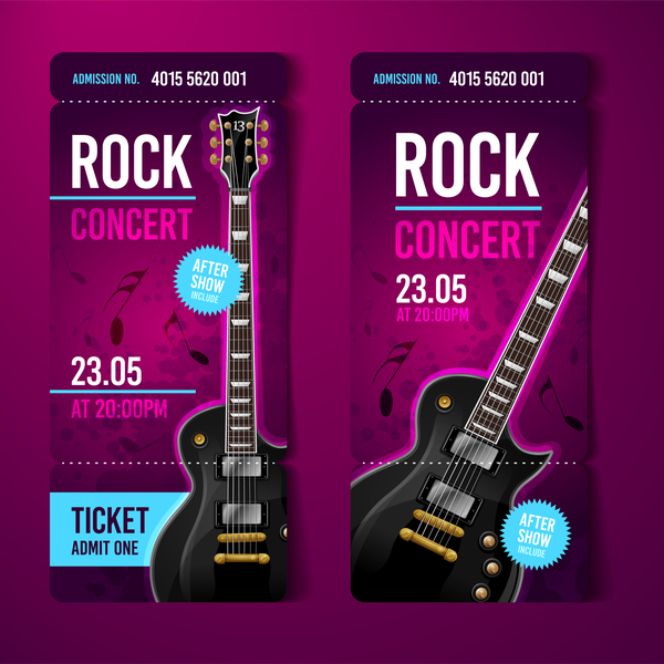 Rock archives welovesolo for Concert ticket template free download