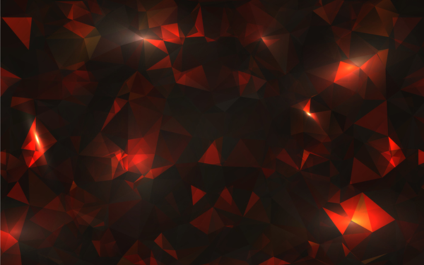 48siv2r2molob47 Polygon geometric colorful background vector 04