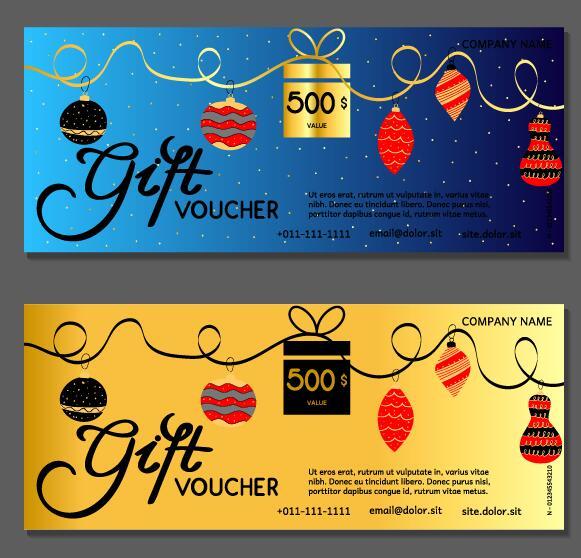 year voucher new gift