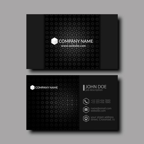 card business black