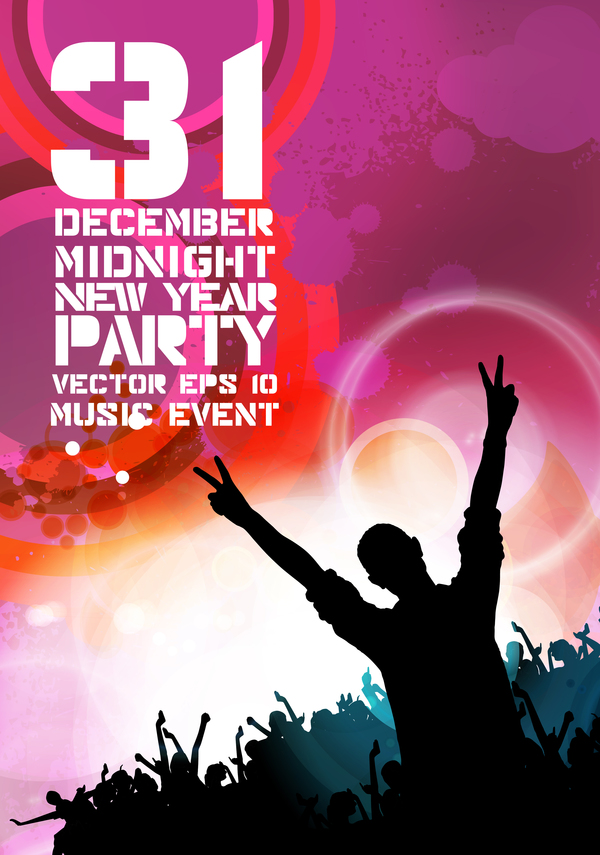 year party new midnight flayer