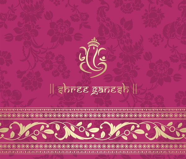 pink pattern indian ethnic