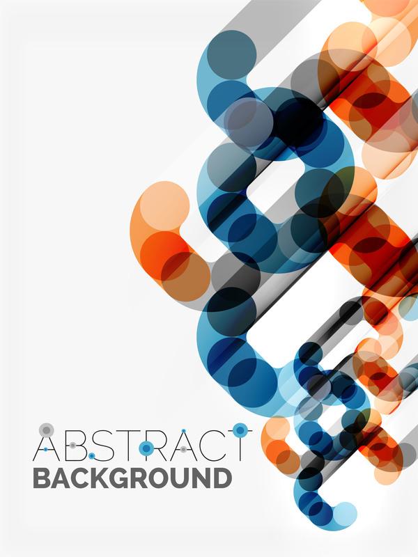 345k4elktb1x354 Modern elements abstract background vector 01