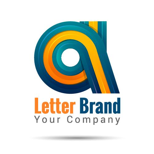 logo letter creative brand