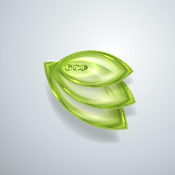 35hjr4wkeu1la55 Green glass textured eco background vectors 03