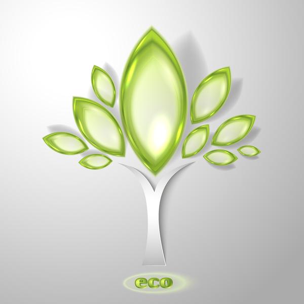 53sedkb2igo5y55 Green glass textured eco background vectors 07