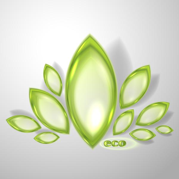 56tcvsptvoyhk55 Green glass textured eco background vectors 06