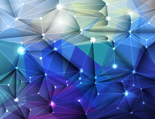 43bnlfo5czg2f56 3D Geometric polygonal triangle pattern vector 04