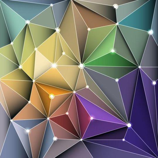 185x0qomwwqga57 3D Geometric polygonal triangle pattern vector 01